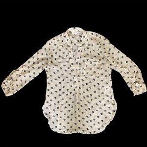 Stella Tweed skull blouse